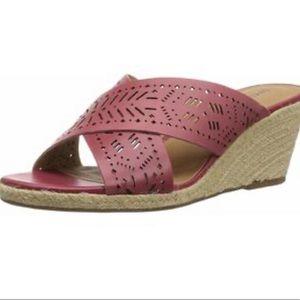 Lucky Brand Womens Keela Leather Espadrille sandal